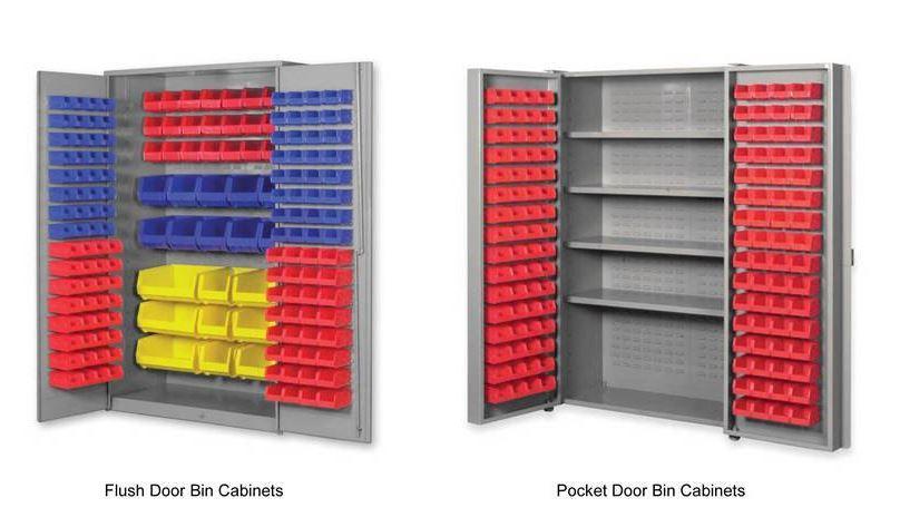 Pucel bin cabinets